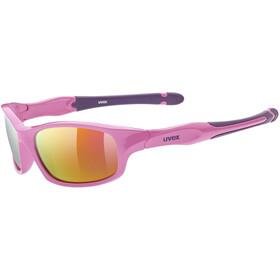UVEX Sportstyle 507 Sportglasses Kids pink purple/mirror pink